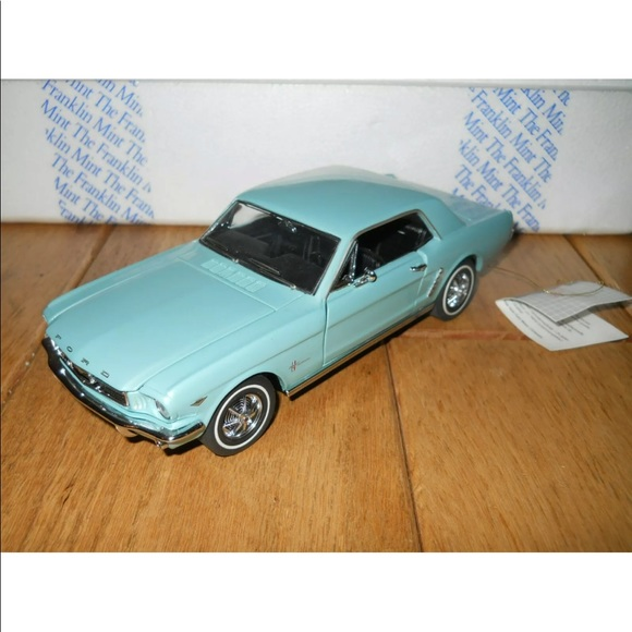 Franklin mint 1964 Ford mustang
